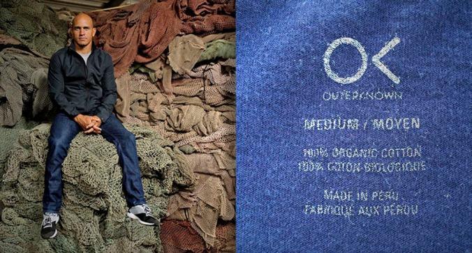 Kelly Slater y el producto peruano - Foto de Outerknown