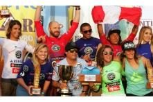Finalistas Huanchaco Repalsa Longboard Pro - Foto de Renato Moreno / WSL